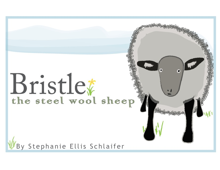 Bristle: The Steel Wool Sheep Cover Mockup