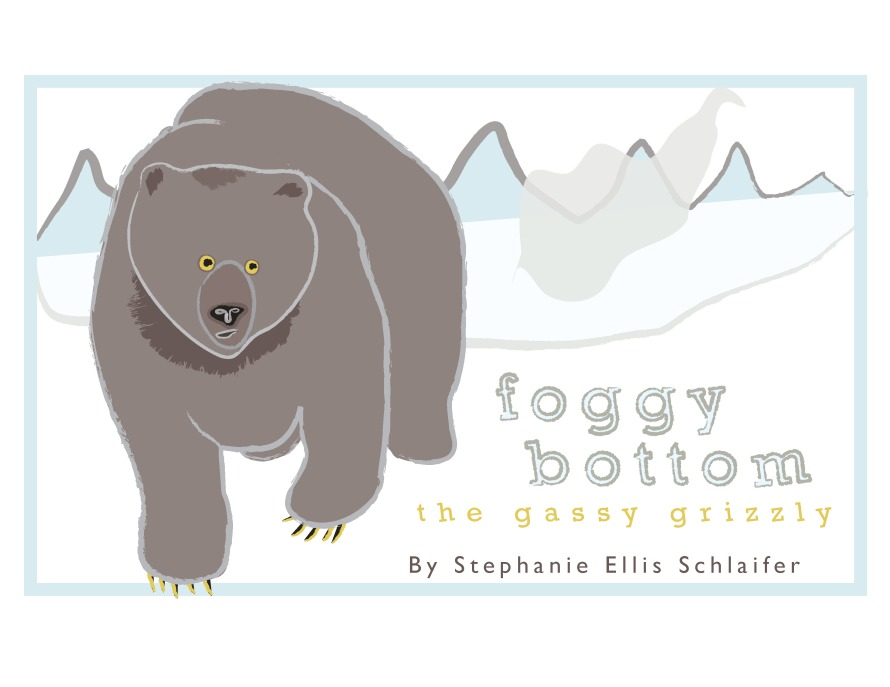 Foggy Bottom: The Gassy Grizzly Cover Mockup